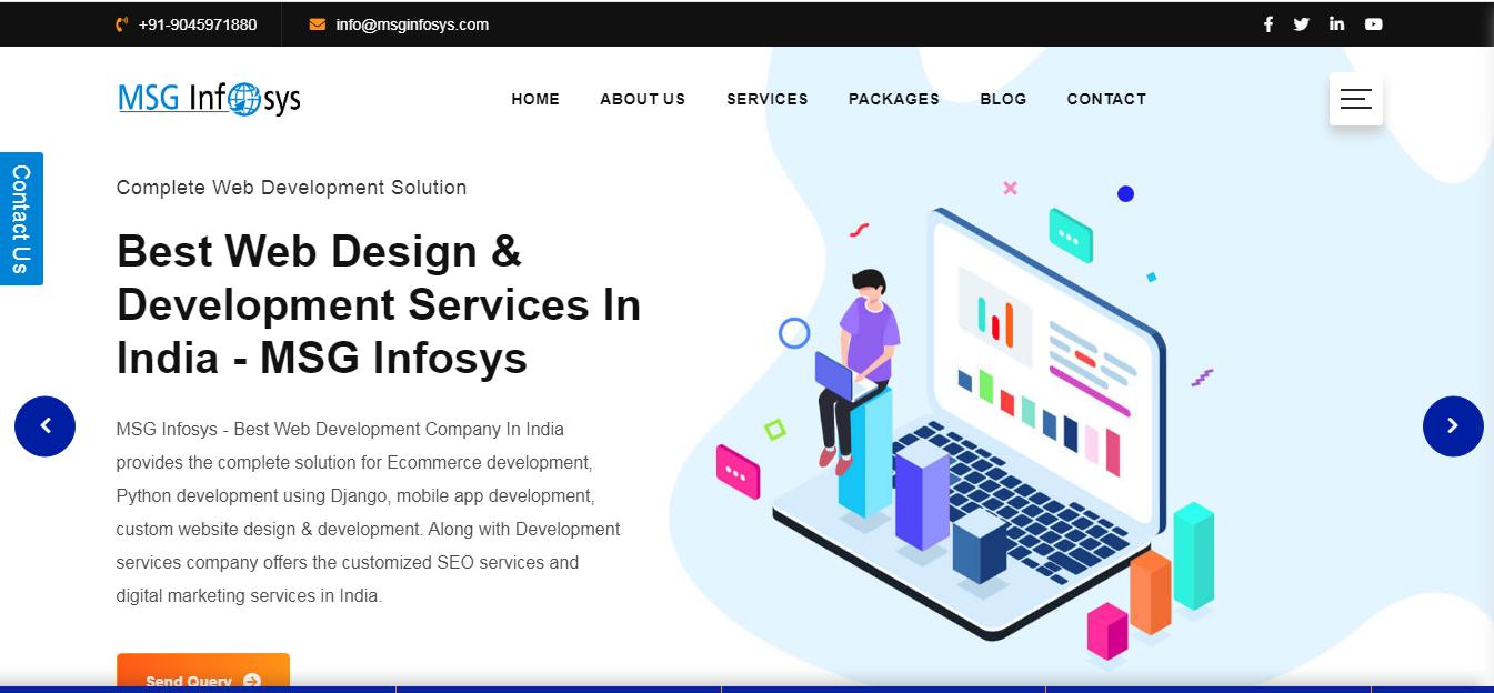 MSGINFOSYS    Web & App Development